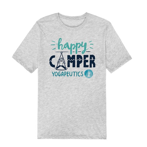 HAPPY CAMPER TSHIRT DESIGN CONTEST