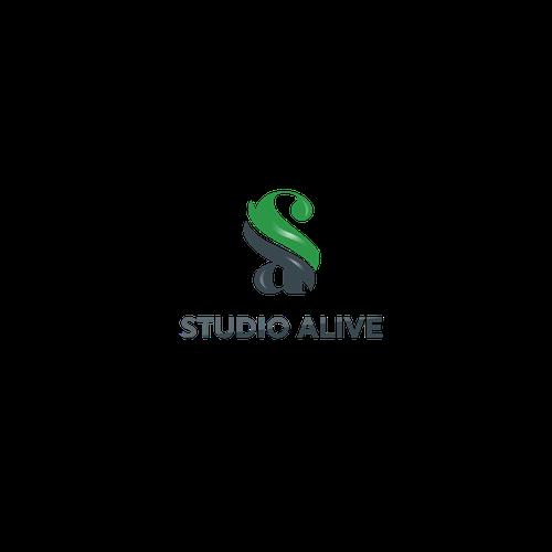 Logo for studio alive