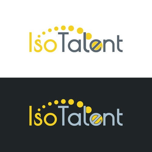 Redesign of the logo for IsoTalent company