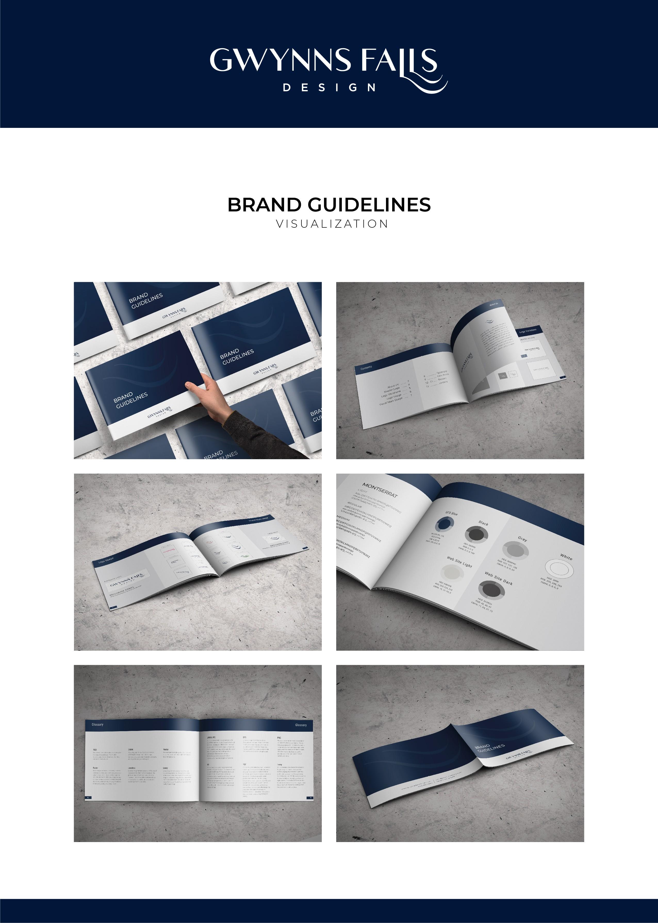 GwynnsFalls Design / Brand Guide / Letterhead / Envelope