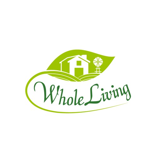Logo design for Whole Living