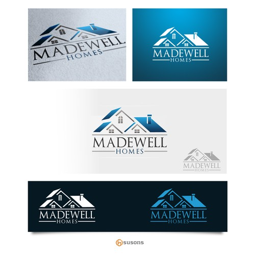 Create a unique logo for Madewell Homes - We build unique homes, need logo to fit.