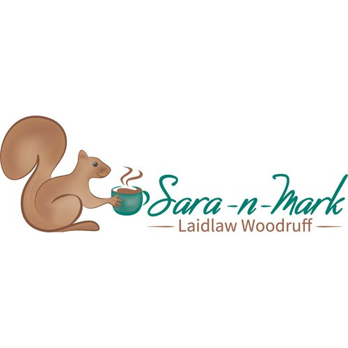Logo concept for blog Sara-n-Mark