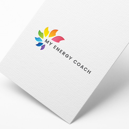 Beautiful logo for My Energy coach.