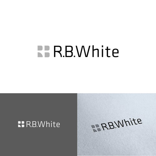 Creative Help  for New R. B. White LOGO !