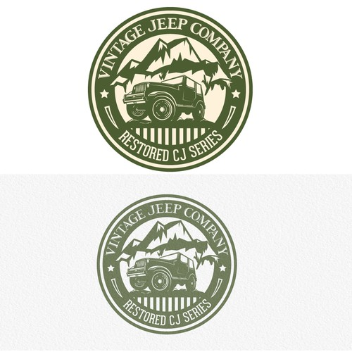 VINTAGE JEEP COMPANY - WE NEED THE BEST, MOST CREATIVE DESIGNERS!