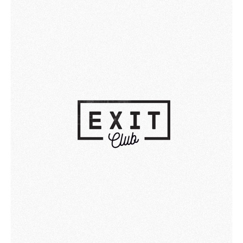 """Exit Club"": Invite-only social club needs epic logo"