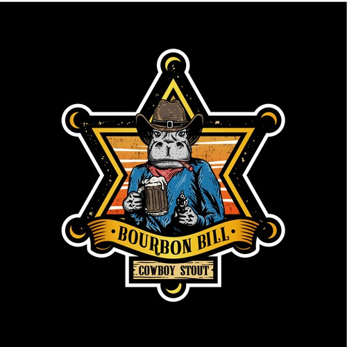 Logo Concept for Bourbon Bill