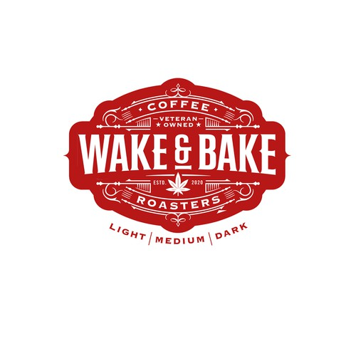 Wake & Bake Coffee Roasters Logo