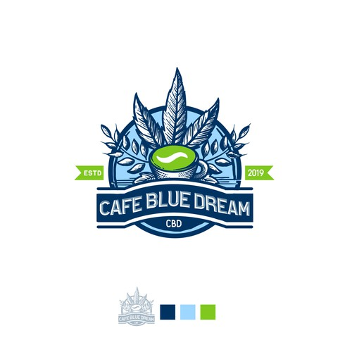 CAFEBLUE DREAM LOGO