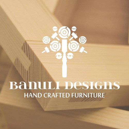 Logo for a hand crafted furniture company