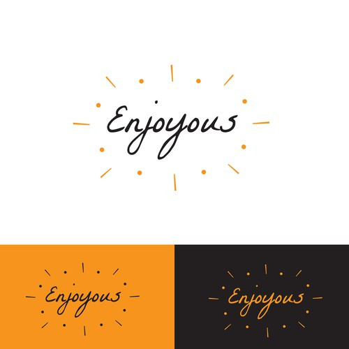Logo design for enjoyous