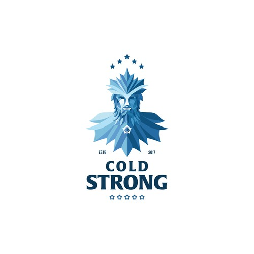 Icy concept for brewing company.