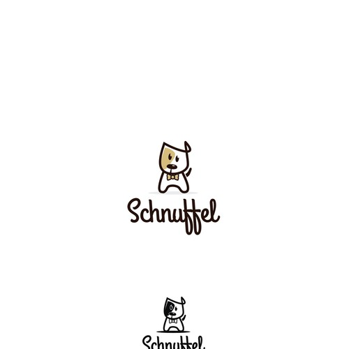 Logo and Hosted Website for Schnuffel