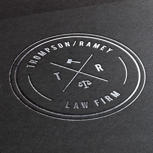 Modern law firm logo