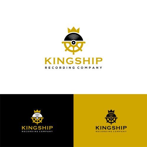 Logo concept for Kingship Recording Company