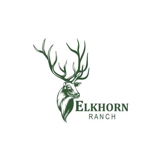 logo concept for Elkhorn Ranch