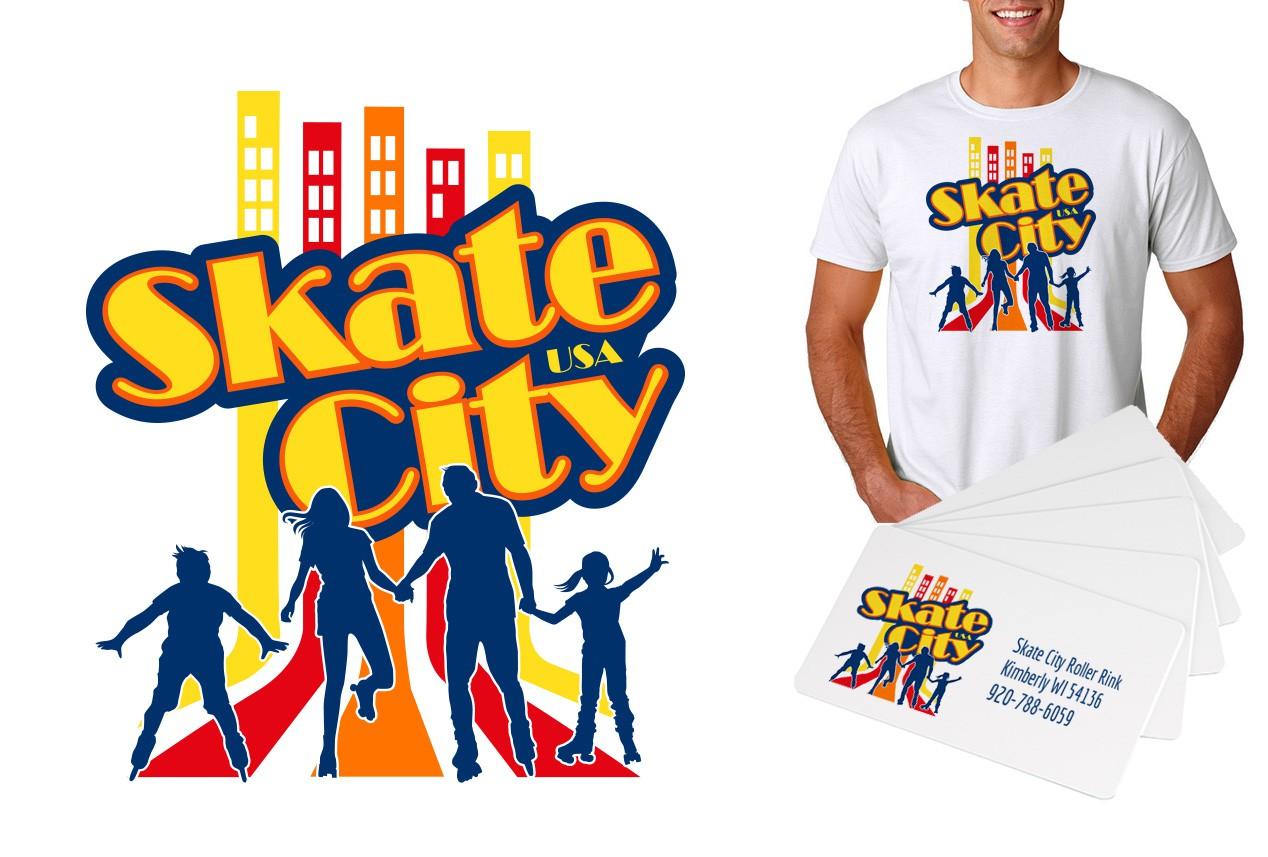 Let's Go Roller Skating!  Skate City Makeover!