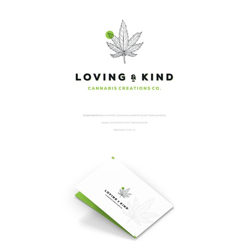 love & kind ( logo concept )