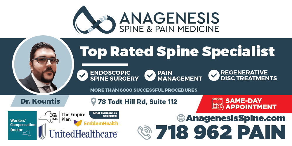 4x8 Banner ad for NEW Pain Management Practice to attract patients
