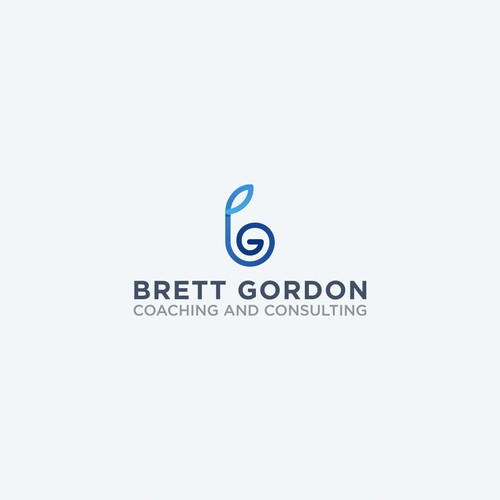 Bold logo for a Business Coach
