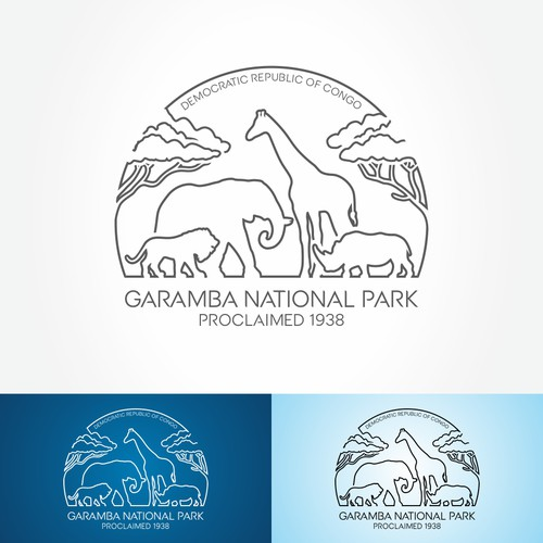 T-Shirt Design National Park