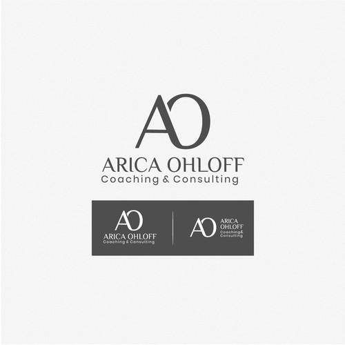 Maszuline logo concept for ARICA OHLOFF
