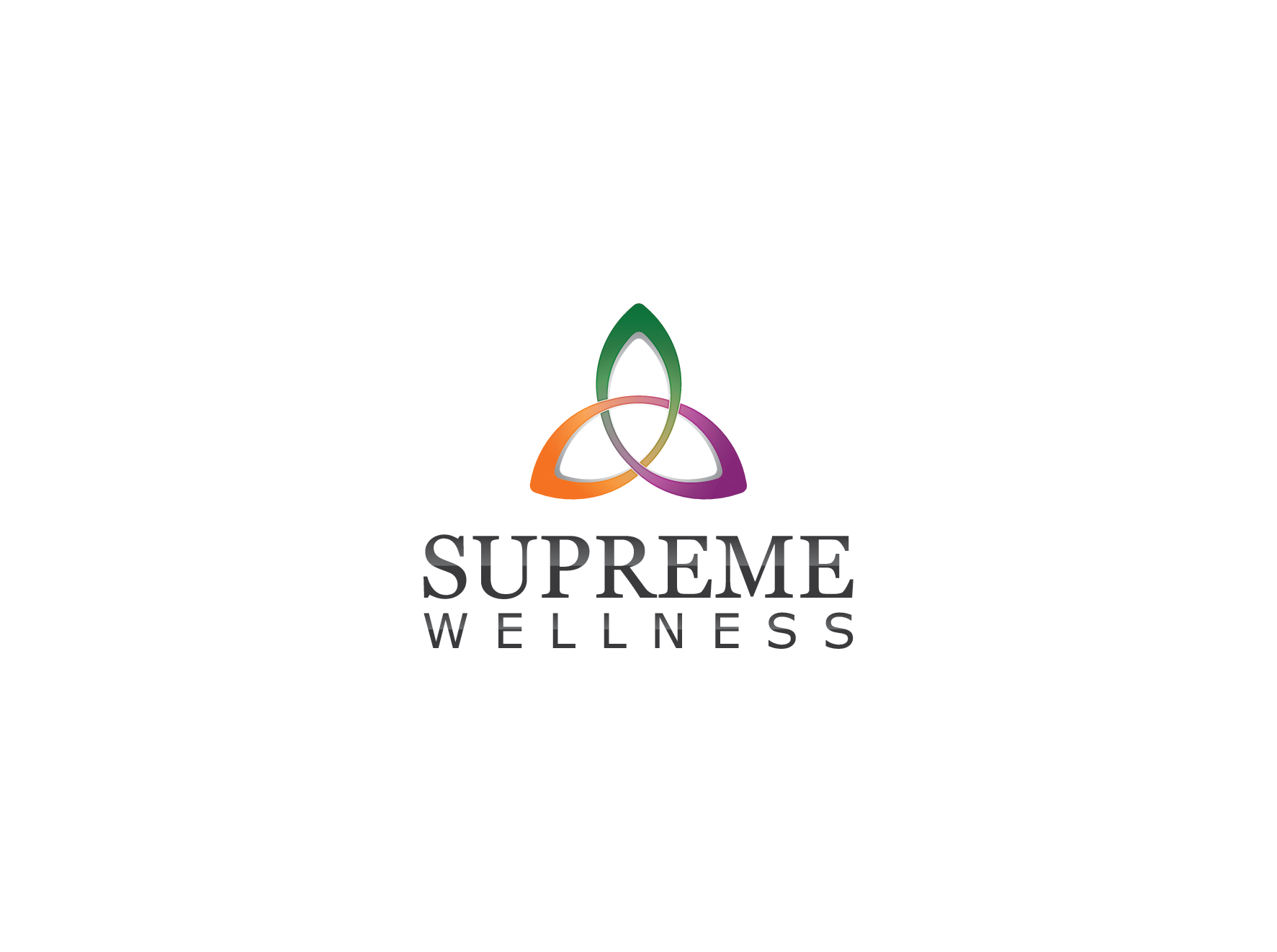 Create a Dynamically Flowing Logo for Supreme Wellness