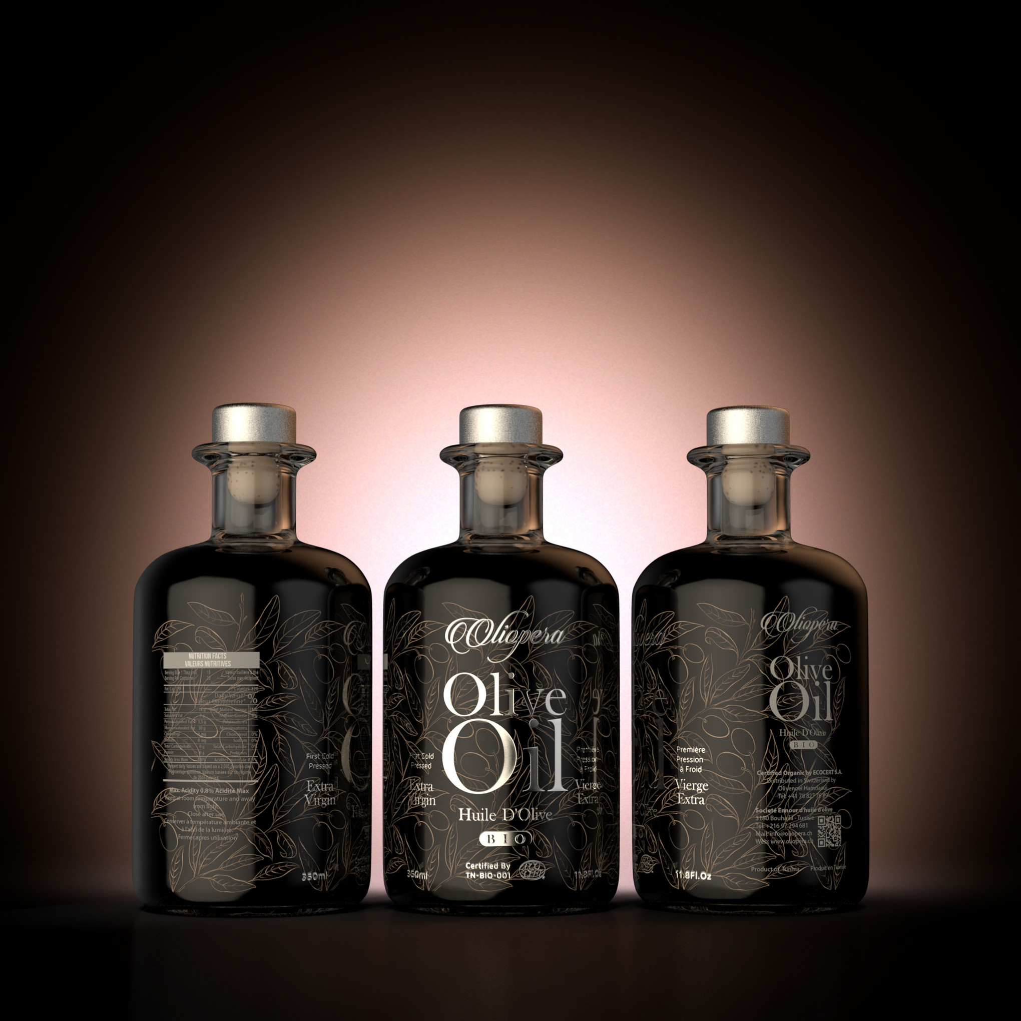 Olive Oil Giftbox - Label and Packaging