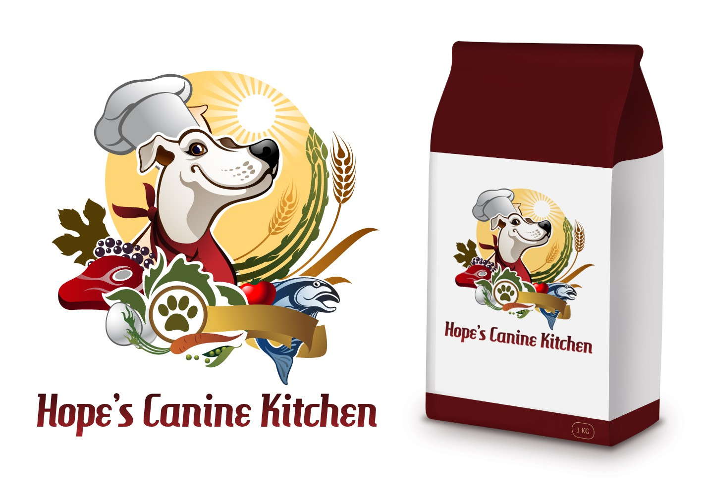 New logo wanted for Hope's Canine Kitchen