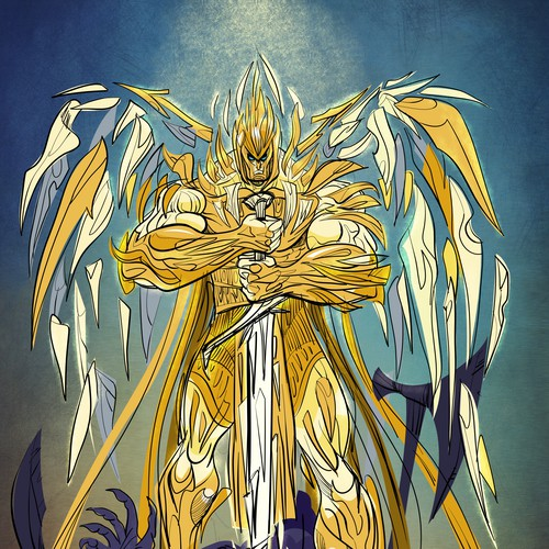 Concept for Angelic Warrior