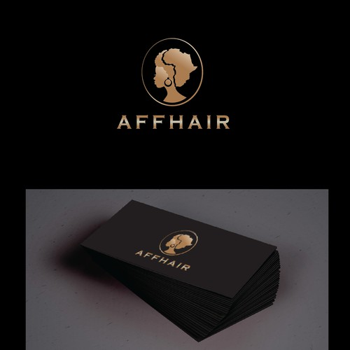 Logo for hair extension business