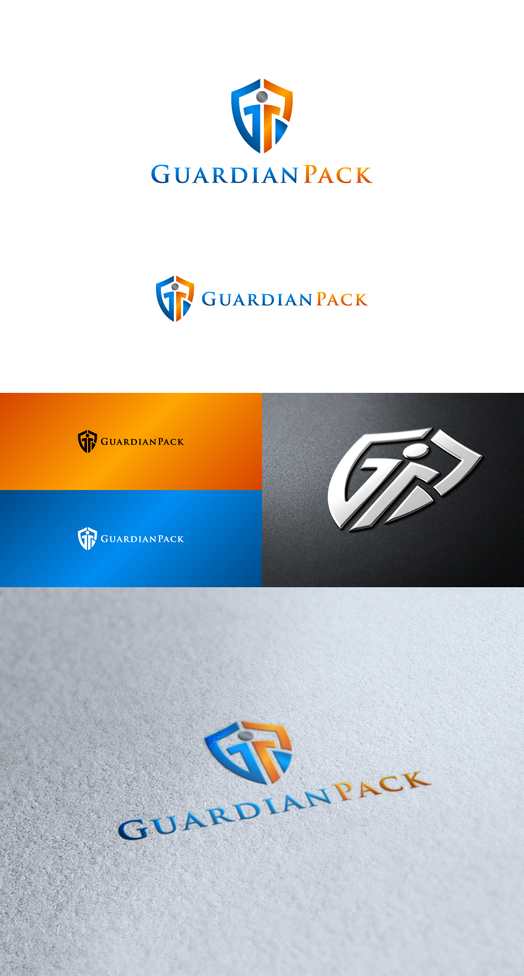 Create the next logo for GuardianPack