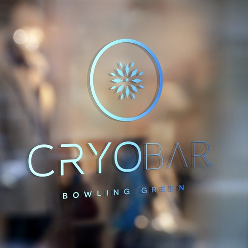 Business launch from scratch. Branding, printed assets and hosted website design for CryoBar BG.