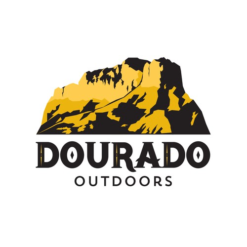 logo design for Dourado Outdoors