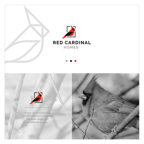 Red Cardinal Homes | Logo Design