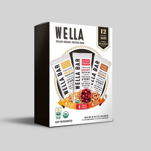 Cereal bar box