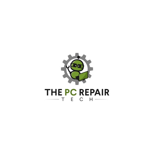 Logo concept for The PC Repair Tech