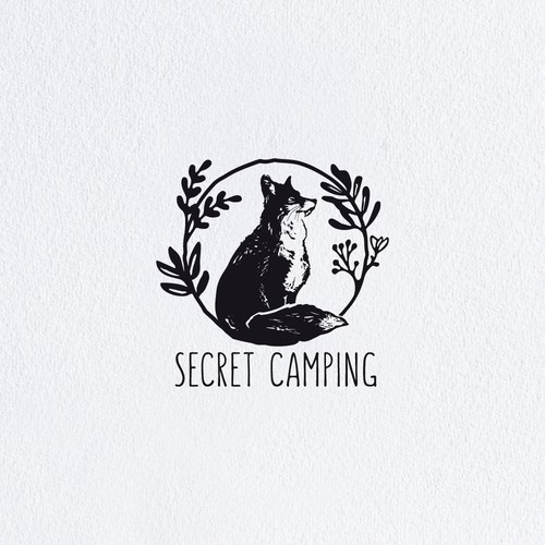 Wild Glamping Experience in the English Lake District needs an iconic/ hipster/maybe handrawn design