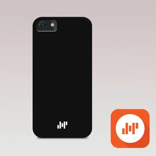 Amp Smartphone Case Logo Design