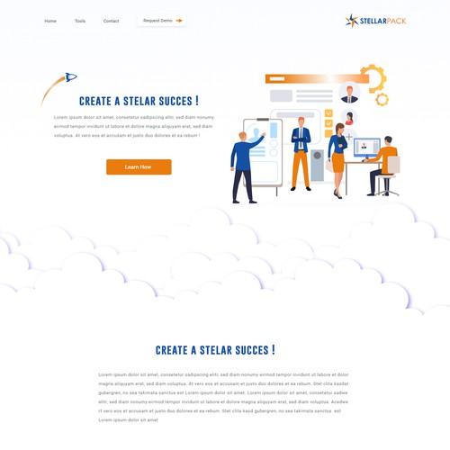 Minimal Landing-page Ui & Ux design