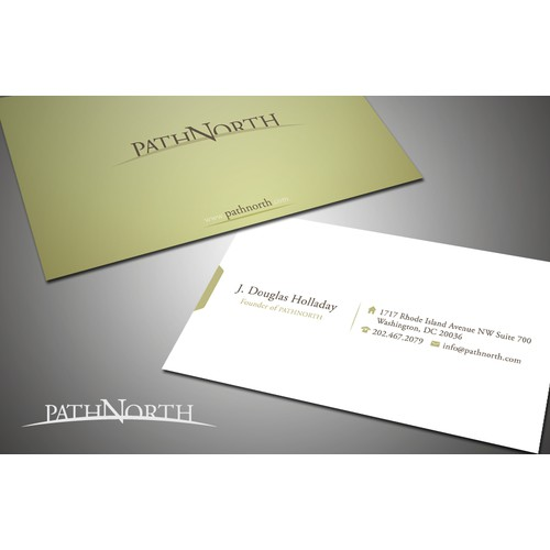 PathNorth needs new business cards