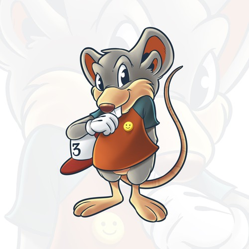 Rat for children's books