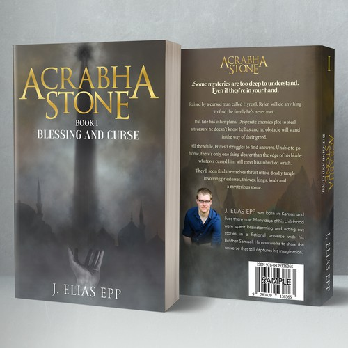 Acrabha Stone: Blessing and Curse Book Cover