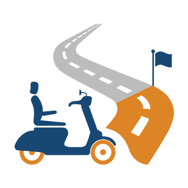 Mobility Scooter Icons