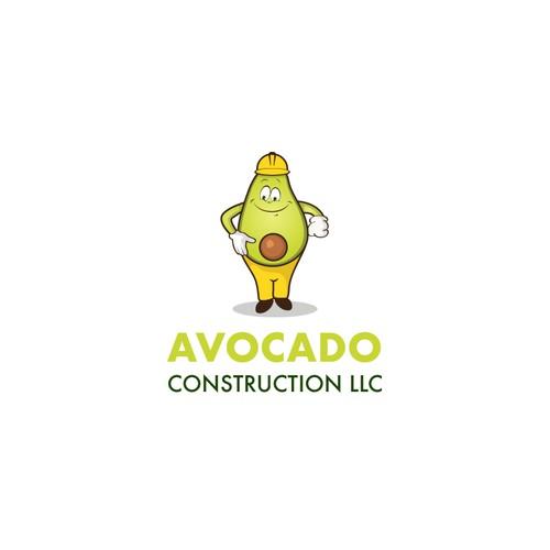 Logo Proposal for Avocado Constrution llc