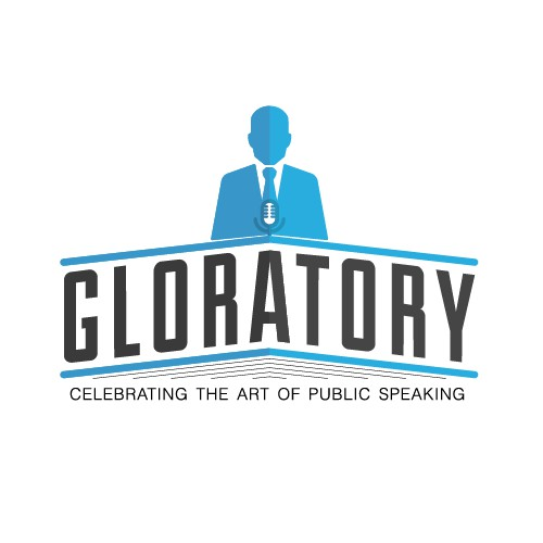 Logo genius needed for Gloratory - a website/blog celebrating the art of public speaking