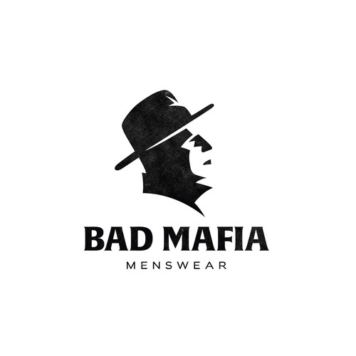 Minimalist logo for Bad Mafia.