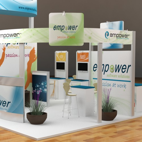Create an eye-catching tradeshow booth!