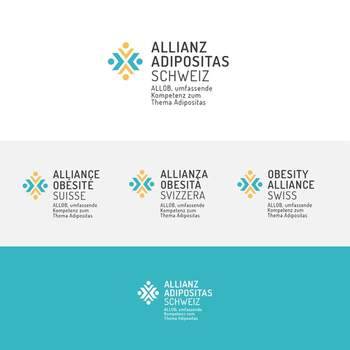 Logo proposal for the Swiss Obesity Alliance